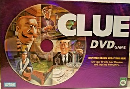 Parker Brothers Clue Dvd Board Game 100% Complete Nice! - $30.44