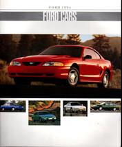 1994 FORD Full Line DEALER BROCHURE Mustang Aspire Taurus Thunderbird Probe - $7.59