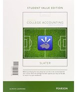 College Accounting: A Practical Approach, Student Value Edition (13th Ed... - $146.51