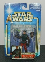 Star Wars Attack of the Clones Captain Typho Action Figure 2001 #84862, MIB - $5.94