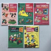 Lot of 5 Walt Disney's Comics and Stories (1940) #265 268 279 311 325 - $39.60