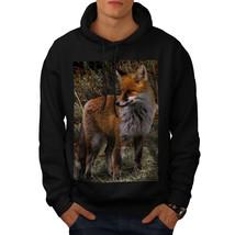 Flaming Hunter Fox Sweatshirt Hoody Clever Beast Men Hoodie - $20.99+