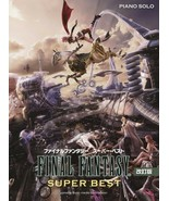 Final Fantasy Super Best Piano solo Musuc Sheet Book JAPANESE - $207.79