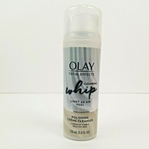 Olay Total Effects Cleansing Whip Polishing Creme Facial Cleanser 5 fl oz  - $12.50
