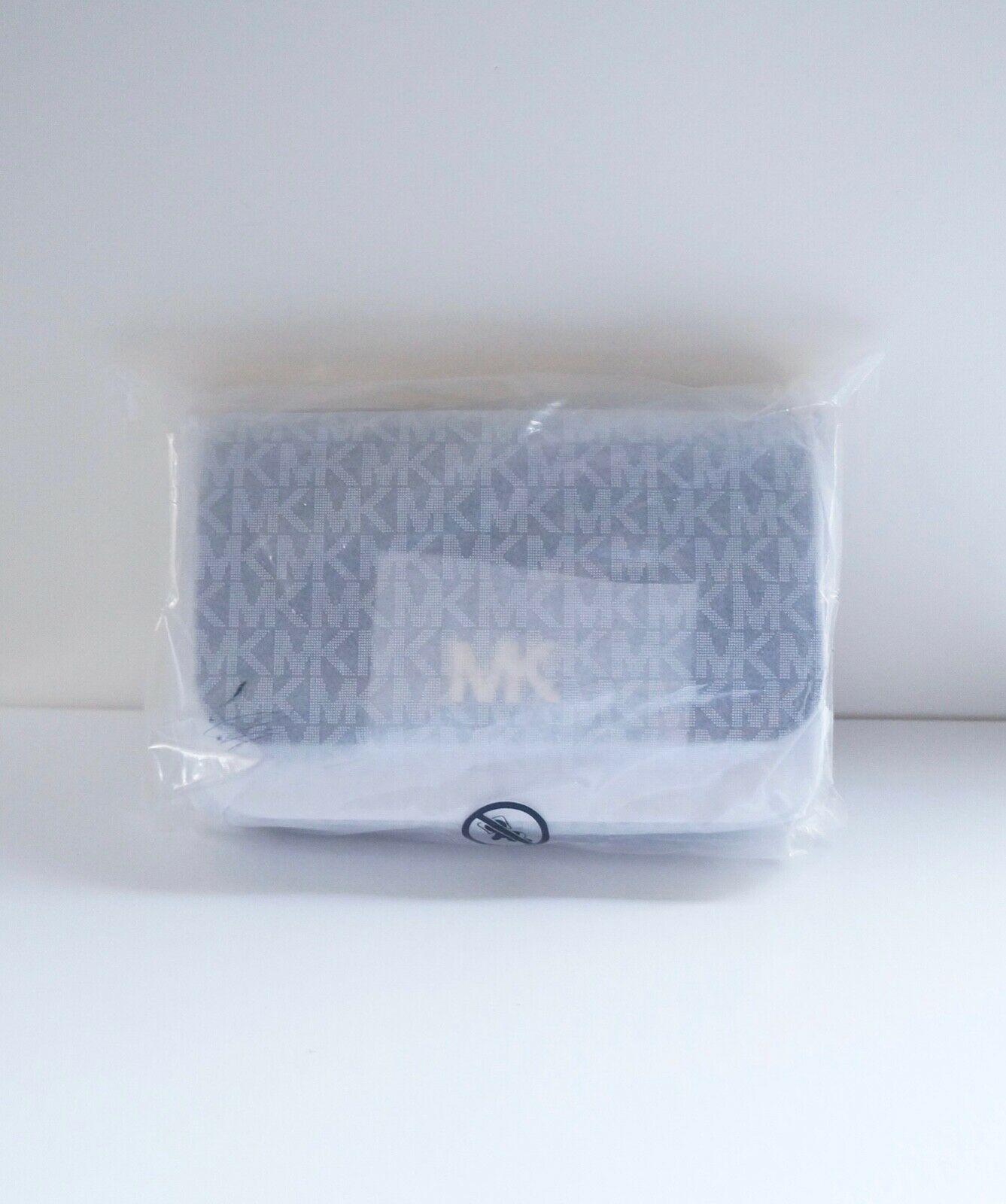 NWT Michael Kors Mott Small Leather Belt Bag/ Black image 2