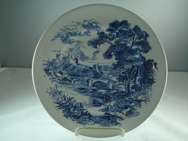 Wedgwood Countryside Blue Dinner Plate - $11.87
