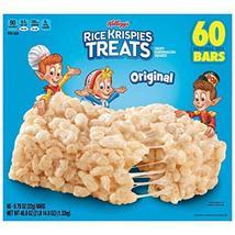 Kellogg's Rice Krispies Treats, 0.78 oz, 60-count, 2 Pack - $46.33