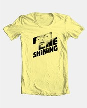 The Shining T-shirt retro 70's Stephen King horror movie 100% cotton yellow tee image 2