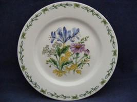 "Thomson Floral Garden 7.5"" Salad Plate  Blue Irus Flowers - $9.95"