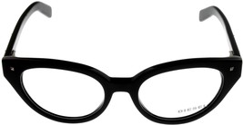 New Diesel Women Prescription Eyeglasses Frame Black Cat Eye DL5057 001 - $88.11