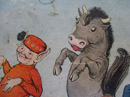 Antique Children's Book The Land of Don't Want To Funny Humor Fantasy Wo... - $30.49