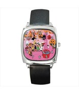 SNOOPY HALLOWEEN PARTY SILVER-TONE SQUARE WATCH - $25.64
