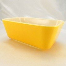 Pyrex 0502 Banana Yellow Vintage Fridge Dish 1½ pts ~ VERY CLEAN ~ Made ... - $24.95