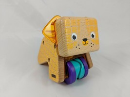 Fisher Price Curious Pup Dog Wood DJF69 2015 - $4.65