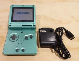 Nintendo Game Boy Advance GBA SP Pearl Green System AGS 001 MINT NEW - $74.20