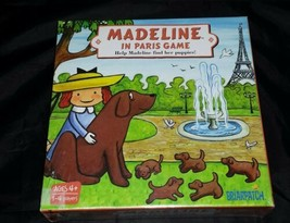 Madeline in Paris Board Game: Briarpatch New in Box Ages 4+ Find Puppies... - $12.59
