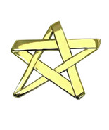 Tiffany & Co. 18k yellow Gold Paloma Picasso Star Pin/Pendant WLG68KHS - $1,875.00