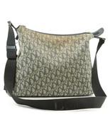 Christian Dior Trotter Canvas Shoulder Bag Navy Auth 7289 - $210.00