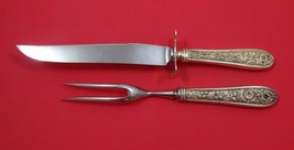 "Corsage by Stieff Sterling Silver Steak Carving Set 2pc with 8 3/4"" Fork - $132.05"