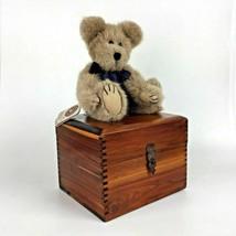 Vintage Handmade Wood Recipe Card Storage Box Kitchen Decor Amish Dove Gift - $49.45