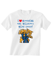 Kentucky Wildcats Toddler T-Shirt Love Watching With Daddy Tshirt Tee - $15.00