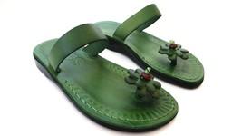 Leather Sandals for Women TOE POST by SANDALIM Biblical Greek Roman Sandals - $39.83 CAD+