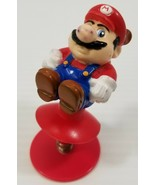N) Vintage 1989 Nintendo of America Super Mario Suction Cup Jumping Figure - £3.66 GBP