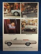 Vintage Magazine Ad Print Design Advertising Pontiac LeMans - $12.86