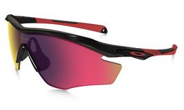 New Oakley M2 Frame Sunglasses Polished Blck w/OORed Iridium Polarized OO9212-06 - $225.35
