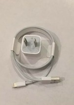 Genuine Apple Lightning Cable And Power Adapter Set - $8.99