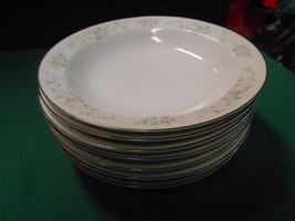 """Outstanding CARLTON China """"Corsage"""" Set of 8 SO... - $48.10"""