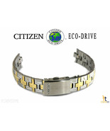 Citizen Eco-Drive S075661 Stainless Steel (Two-Tone) Watch Band Strap - $80.95