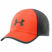NEW! Under Armour Mens Shadow ArmourVent Adjustable Cap-Volcano/Anthracite - $59.28