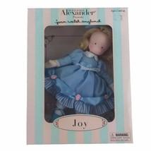 Vintage 2001 Madame Alexander Joan Walsh Anglund Joy Doll Vinyl Cloth Sc... - $25.82