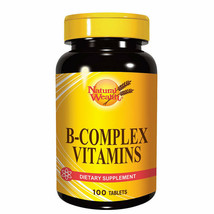 Natural Wealth - B-COMPLEX Vitamins - Dietary Supplement - 100 Tablets - $34.00