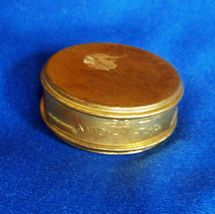 Antique Elgin National Watch Company Brass Factory Movement Container 6 size - $11.99