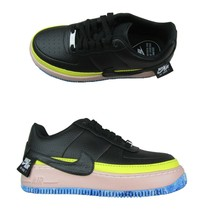 Nike Air Force 1 Jester XX SE Low Black Sonic Yellow AT2497 001 New Wome... - $99.95