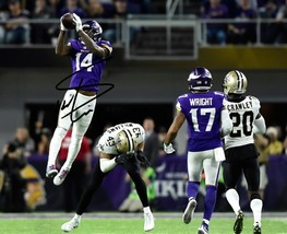 Stefon Diggs Signed Photo 8X10 Rp Autographed Minnesota Vikings The Catch - $19.99