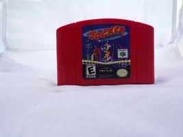 Rocket: Robot on Wheels (Nintendo 64, 1999) N64 Authentic Cartage Only - $98.99