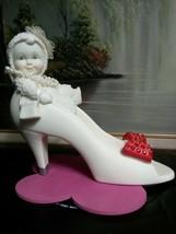 RARE Department 56 Snowbabies Figurine MOTHER'S SHOE. Excellent Condition.  - $41.65