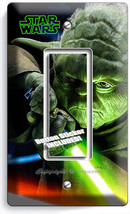 Jedi Master Yoda Sword Star Wars Single Gfci Light Switch Plates Room Home Decor - $8.09