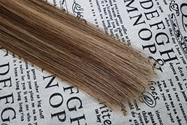 """20"""" Tape in Extensions Remy Human Hair Extensions Brazilian Remy Hair Glue in Re image 6"""