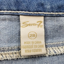 Seven7 Womens Jeans Shorts Size 7 Lace Detail NEW image 7