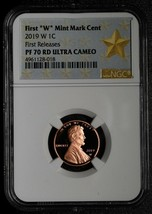 2019 W Lincoln Cent PF 70 Proof NGC PF70 First Releases Coin 4961128-018 SKU C15