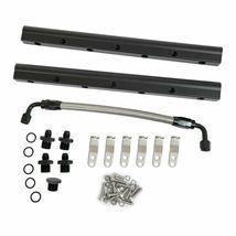 LS LSX LS1 LS2 LS6 Fabricated Intake Manifold Kit Throttle Body & Fuel Rails image 10