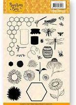 Buzzing Bees Clear Stamp Set. Jeanine's Art. Bees, Honey, Sunfllowers