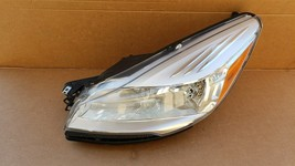 13-16 Ford Escape Halogen Headlight Head Light Lamp Driver Left LH image 1