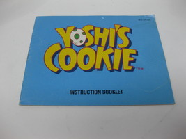 Yoshi's Cookie - NES Nintendo - Manual Only - $5.99