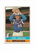 1976 Topps #435 Phil Niekro, Atlanta Braves - $2.65