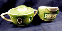 VTG Set of 2 Royal China Colonial Homestead Creamer & sugar bowl with lid - $34.65